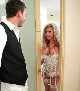 Путана в свадебном платье